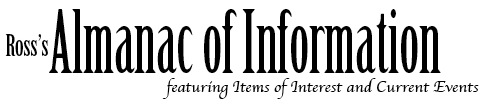 Ross's Almanac of Information Logo Image
